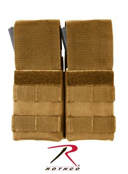 Rothco MOLLE Double M16 Pouch w/ Inserts-Rothco