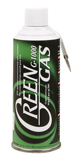 Green Gas Airsoft Propellant-