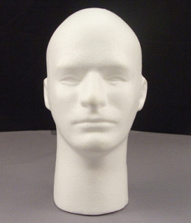 Rothco Male Foam Head With Face-