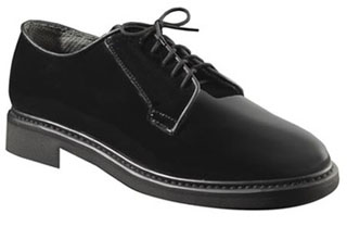 Rothco Uniform Hi-Gloss Oxford Dress Shoe-Rothco