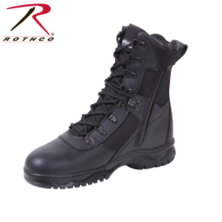 Rothco Insulated 8 Inch Side Zip Tactical Boot-