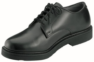 Police Uniform Oxford Leather / Black