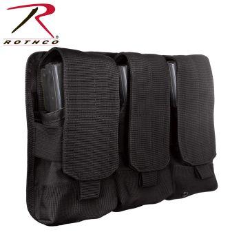 Rothco Universal Triple Mag Rifle Pouch-Rothco