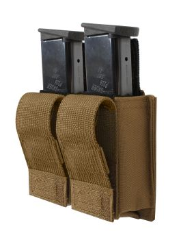 Rothco Molle Double Pistol Mag Pouch With Insert-