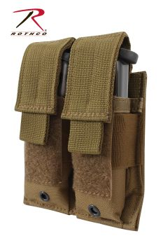 Rothco Double Pistol Mag Pouch - Molle-