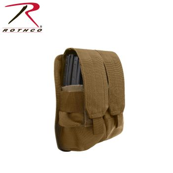 Rothco Universal Double Mag Rifle Pouch - Molle-