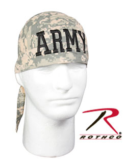 Army Digital Camo ''army'' Headwrap