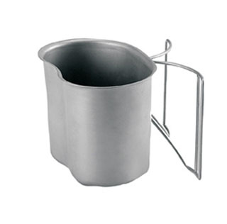512_Rothco GI Style Stainless Steel Canteen Cup-Rothco