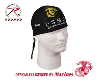 ''marine'' Headwrap-Rothco