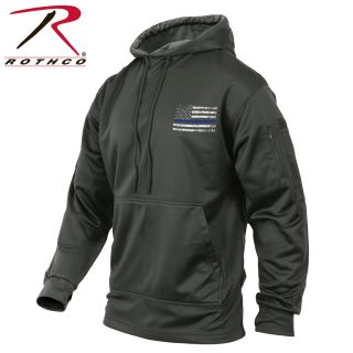 52076_Rothco Thin Blue Line Concealed Carry Hoodie-
