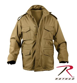 Rothco Soft Shell Tactical M-65 Field Jacket-Rothco