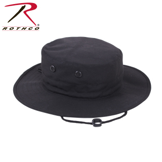 Rothco Adjustable Boonie Hat - Black