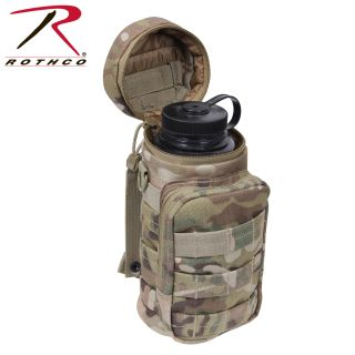 Rothco Water Bottle Survival Kit With MOLLE Compatible Pouch-