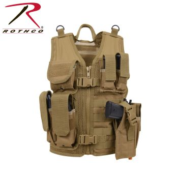 Rothco Kids Tactical Cross Draw Vest-