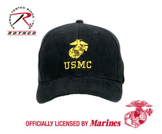Rothco USMC With Globe & Anchor Insignia Cap-