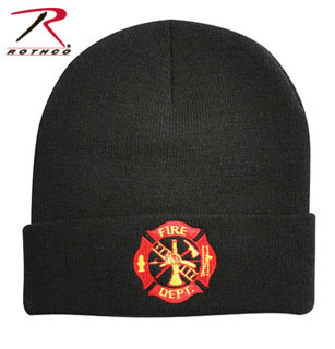 Rothco Deluxe Fire Department Embroidered Watch Cap-