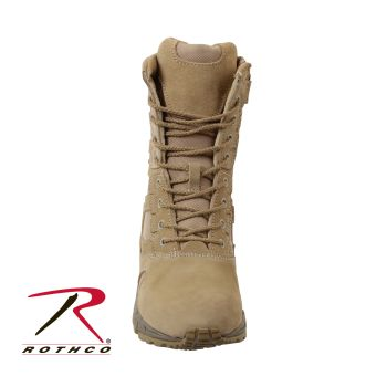 "Rothco Forced Entry 8"" Deployment Boots with Side Zipper-"