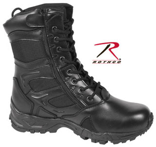 Rothco Forced Entry Deployment Boot With Side Zipper-