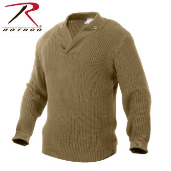 5359 Rothco Wwii Vintage Mechanics Sweater - Khaki