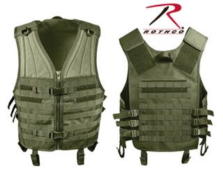 Rothco Molle Modular Vest - Olive Drab