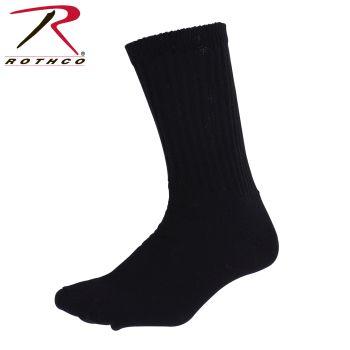 Black Crew Socks - King Size