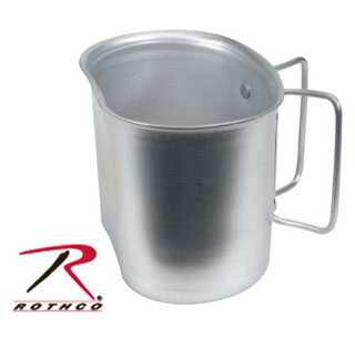 Rothco GI Style Aluminum Canteen Cup-