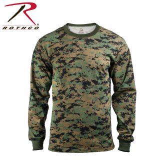 Rothco Long Sleeve Digital Camo T-Shirt-Rothco