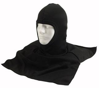 Rothco Black Polyester Balaclava w/ Dickie-