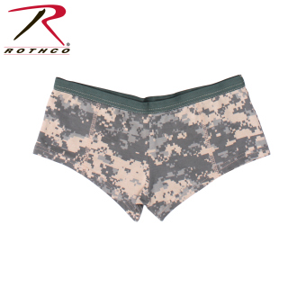 Rothco Womens Booty Shorts - Acu Digital Camo