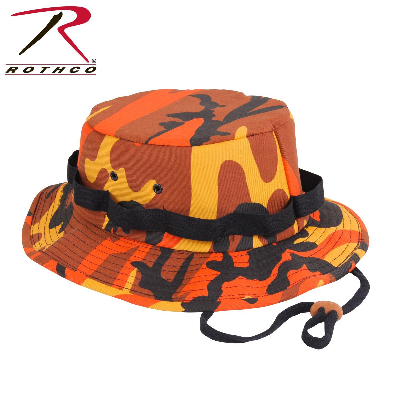 cb5c4ece8aebf Savage Orange Camo Jungle Hats