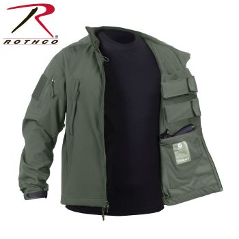 55585_Rothco Concealed Carry Soft Shell Jacket-