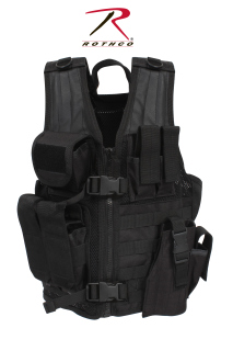 Rothco Kids Tactical Cross Draw Vest-Rothco