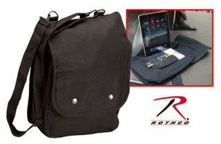 Rothco Canvas Map Case Shoulder Bag-Rothco