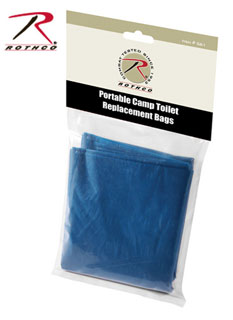 Rothco Portable Camp Toilet Replacement Bags-