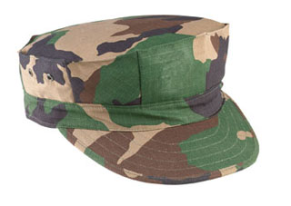 Rothco Marine Corps Cotton Rip-Stop Cap without Emblem-