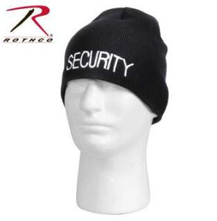 Rothco Embroidered Security Acrylic Skull Cap-Rothco