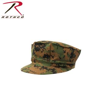 Rothco Marine Corps Poly/Cotton Cap With Out Emblem-