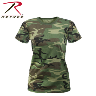 Rothco Womens Long Length Camo T-Shirt-Rothco