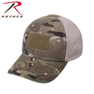 Rothco Mesh Back Operator Tactical Cap-Multicam