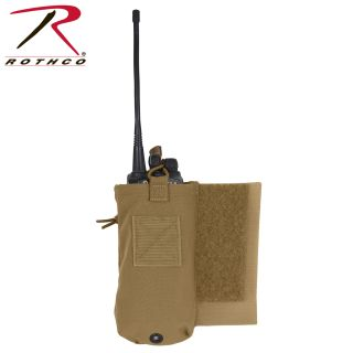 Rothco LACV (Lightweight Armor Carrier Vest) Side Radio Pouch Set-