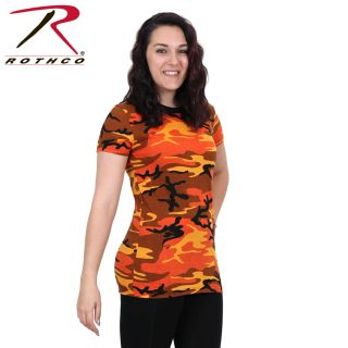 Rothco Womens Long Length Camo T-Shirt-