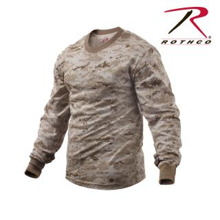 Rothco Long Sleeve Digital Camo T-Shirts-Rothco