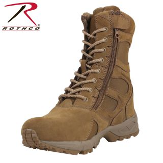 """Rothco Forced Entry 8"""" Deployment Boots with Side Zipper-"""