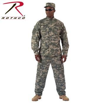 5766_Rothco Camo Army Combat Uniform Shirt-
