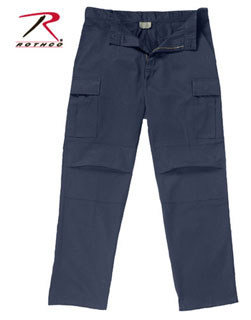 Rothco Zip Fly Uniform Pant - Midnite Navy Blue-Rothco