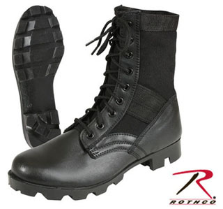 Rothco G.I. Type Black Steel Toe Jungle Boot-