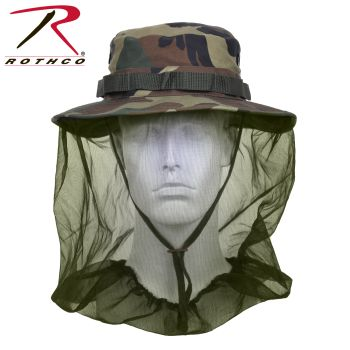 Rothco Boonie Hat With Mosquito Netting-