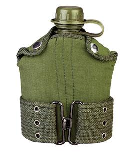 Rothco G.I. Type Plastic Canteen & Pistol Belt Kit-