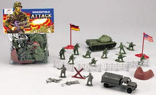 Combat Force Soldier Play Set-Rothco
