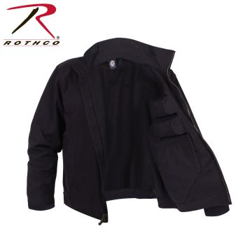 59587 Rothco Lightweight Concealed Carry Jacket-Blk